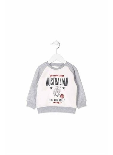 Losan Losan Erkek Sweatshırt Ekru Australian Ekru